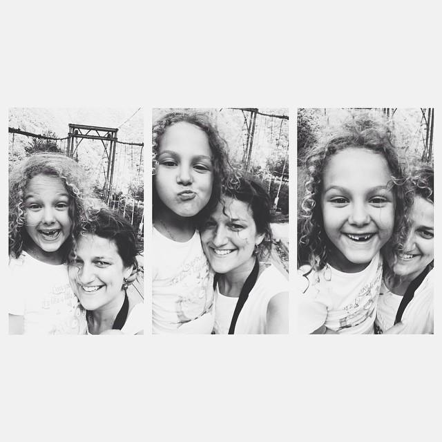 Я и дочка-обезьянка:))) #большоепутешествиевабхазию #дочки_матери  #счастливаямама #счастье_есть #абхазия