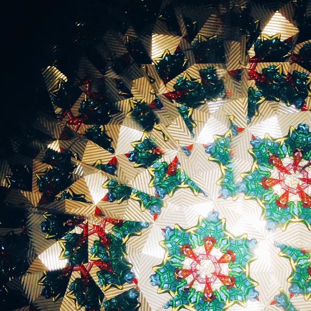 Нашла Сонин калейдоскоп:) зависла. Красочный вечер.  #лоскутноеодеялодетства