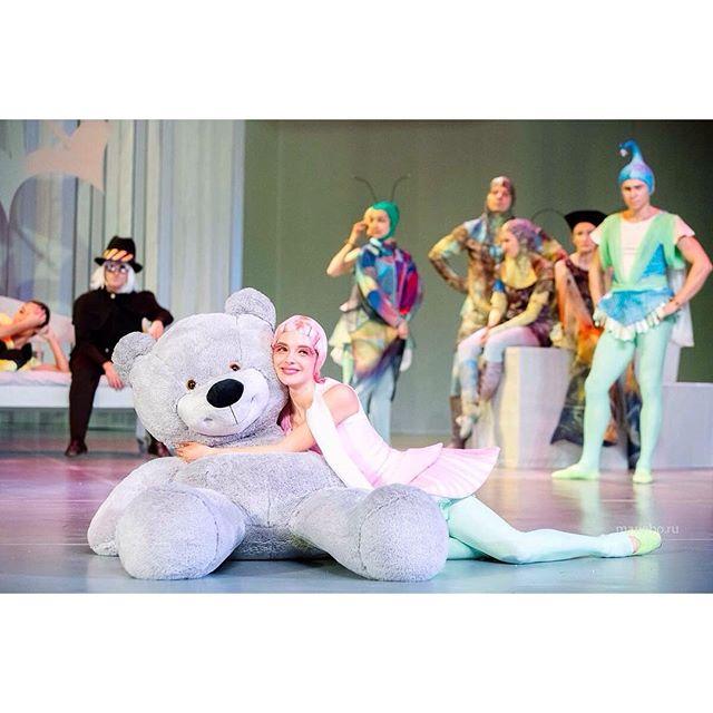Когда работа в удовольствие:) @baletmoskva #балетмосквадюймовочка  #премьера   #обнимашки